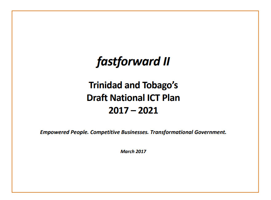 National ICT Plan 2017-2021